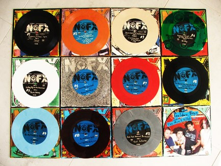 "NOFX - 7"" Of The Month Club"