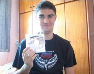Emanuel - Vencedor promoção NOFX CD Raro
