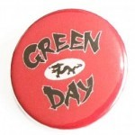 Button Green Day