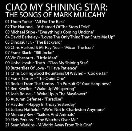 Mark Mulcahy - Ciao My Shining Star