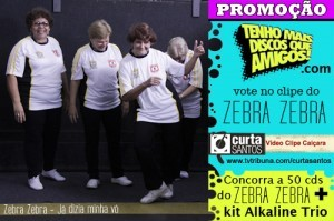 Promoção ZEBRA ZEBRA / Alkaline Trio