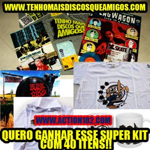 Promoção SUPER KIT - TMDQA! + Action182