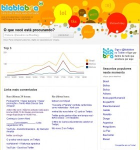 Primeiro e Segundo links mais comentados no Brasil