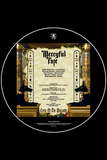Mercyful Fate - EVIL (back)