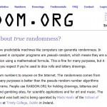 Promoção Deckdisc - Sorteio no Random.org
