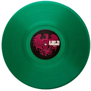 A Day To Remember - Homesick Green Vinyl