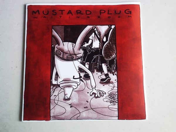 Mustard Plug / Bomb The Music Industry! - Waiting Room / Gold Soundz Vinil