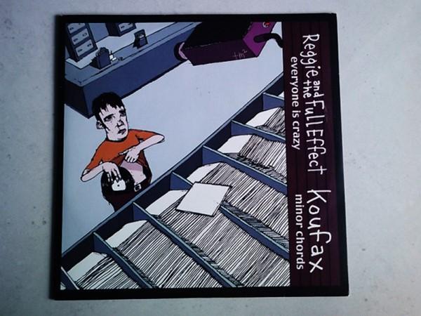 Reggie & The Full Effect / Koufax - Split (Vinil)