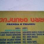 Conjunto Vazio - Prenda O Thadeu (Vinil de 10 polegadas)