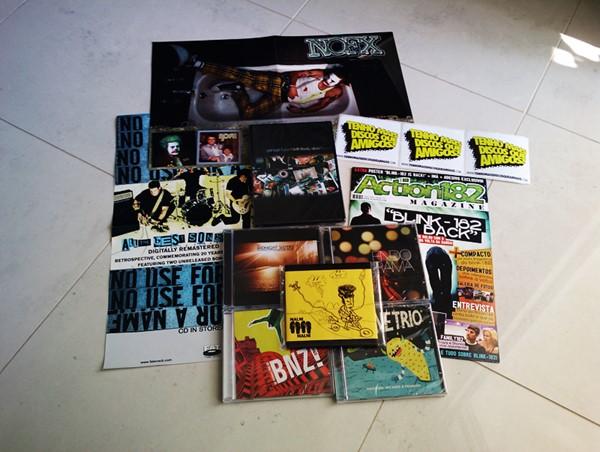 Promoção DVD Garage Fuzz e bandas novas