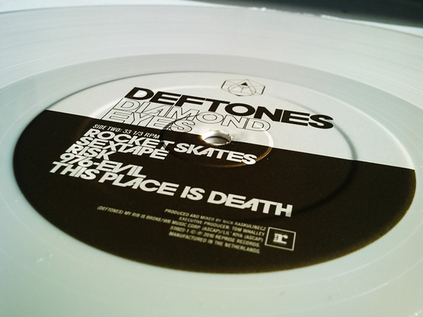 Deftones - Diamond Eyes (Vinil Branco)