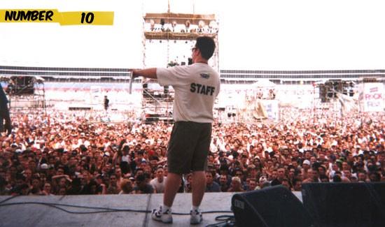blockbuster rockfest number 10 Os 10 Maiores Shows da História
