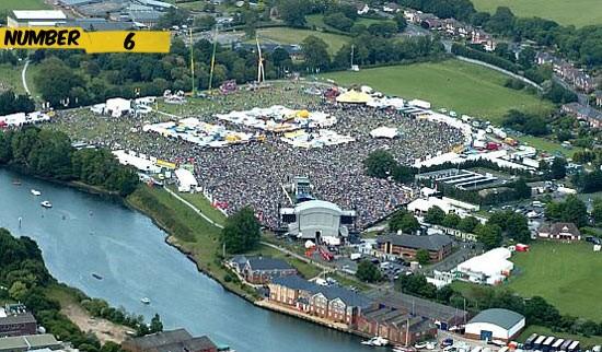 isle of wight festival number 6 Os 10 Maiores Shows da História