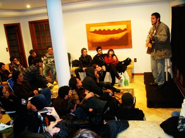 Teco Martins - Living room show em Florianópolis