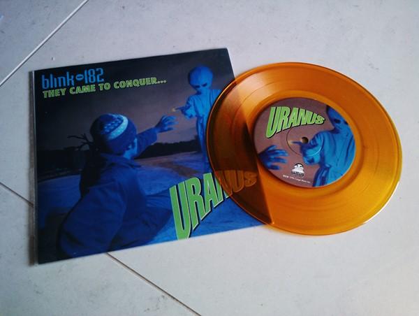 Promoção vinil Blink-182, NOFX, Flatliners