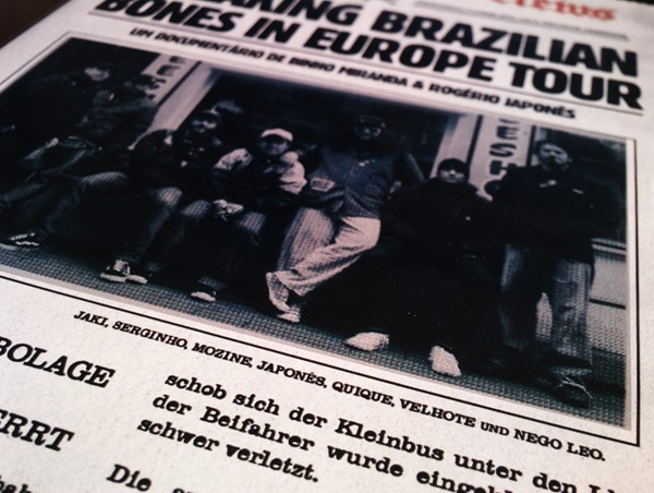 DVD Breaking Brazilian Bones In Europe Tour (Merda/Leptospirose)