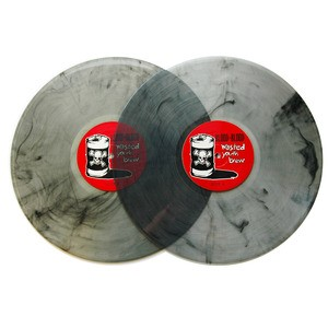 Blood For Blood - Wasted Youth Brew (Clear Black LP)