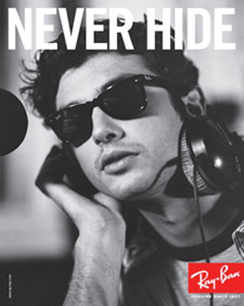Ray-Ban Never Hide in Concert