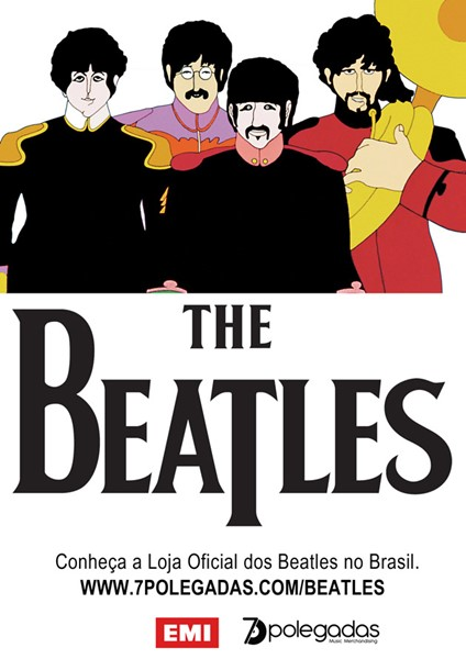 The Beatles - Loja oficial na 7polegadas