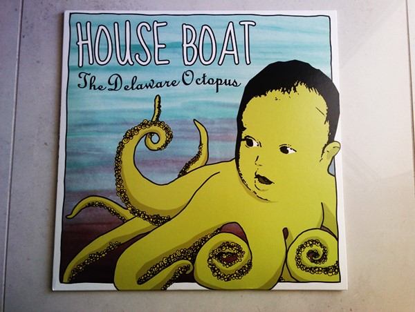 House Boat - The Delaware Octopus