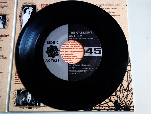 """The Gaslight Anthem - Señor And The Queen (Double 7"""")"""