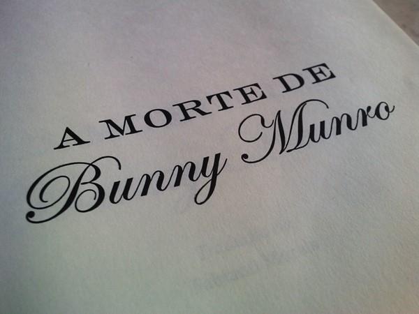 Promoção: A Morte de Bunny Munro, Romance de Nick Cave