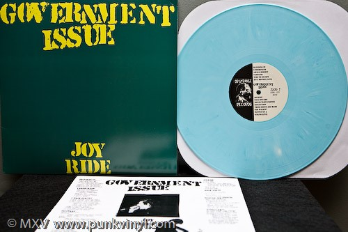 Government Issue - Joy Ride