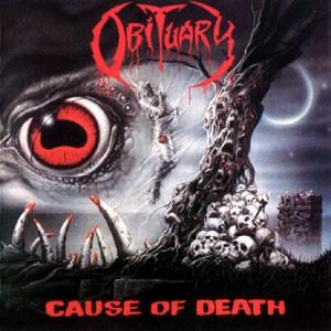 Obituary - Cause Of Death relançado em vinil