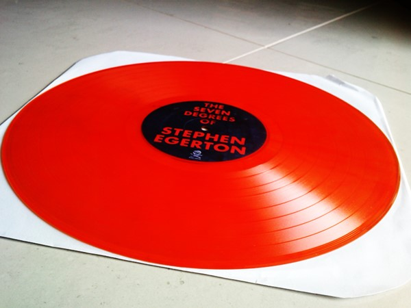 Stephen Egerton - The 7 Degrees Of (Fire Orange Vinyl)