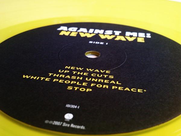 Against Me! - New Wave (LP amarelo de 180 gramas)