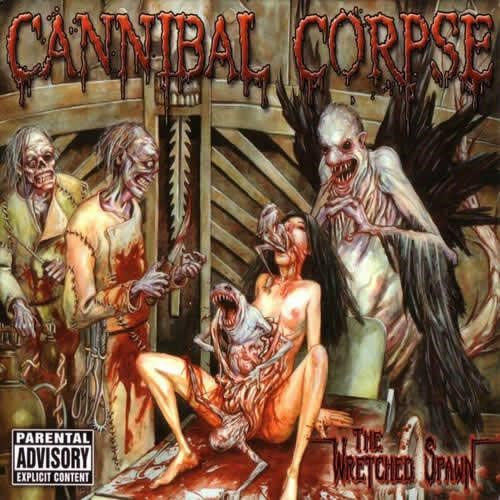 Cannibal Corpse - The Wretched Spawn em vinil de 180 gramas