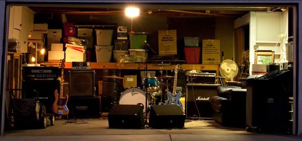 Garagem do Dave Grohl