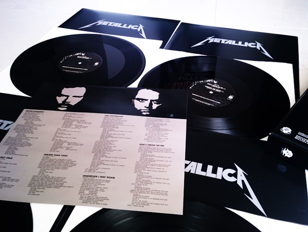 LP Quádruplo do Metallica