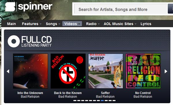 Ouça discografia completa do Bad Religion em streaming