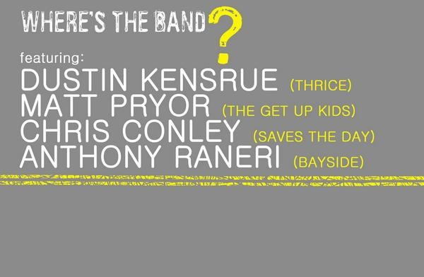 Where's The Band? Tour (Thrice, The Get Up Kids, Saves The Day, Bayside)