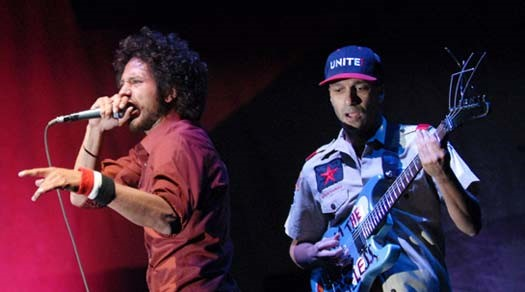 Rage Against The Machine fecha primeira noite do SWU