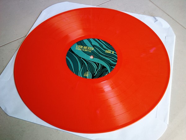 Look Mexico - To Bed To Battle (Orange Vinyl)