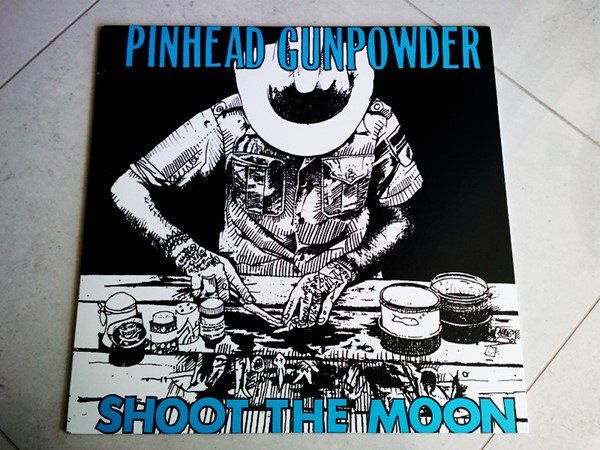 Pinhead Gunpowder - Shoot The Moon (Clear Vinyl)