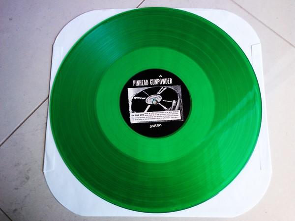 Pinhead Gunpowder - Jump Salty (Green Vinyl)