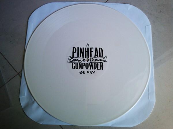 Pinhead Gunpowder - Carry The Banner (White Vinyl)