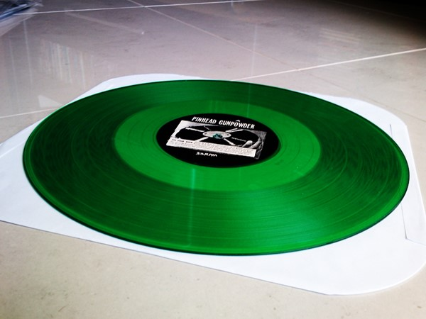 Pinhead Gunpowder - Jump Salty (Green Vinyl)