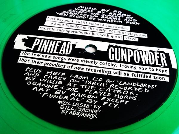 Pinhead Gunpowder - Compulsive Disclosure (Green Vinyl)