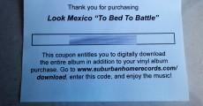 Look Mexico - To Bed To Battle (Orange Vinyl)