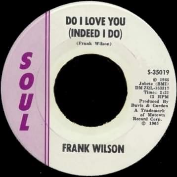 Frank Wilson - Do I Love you (Indeed I Do)