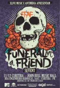 Funeral for a Friend em Curitiba
