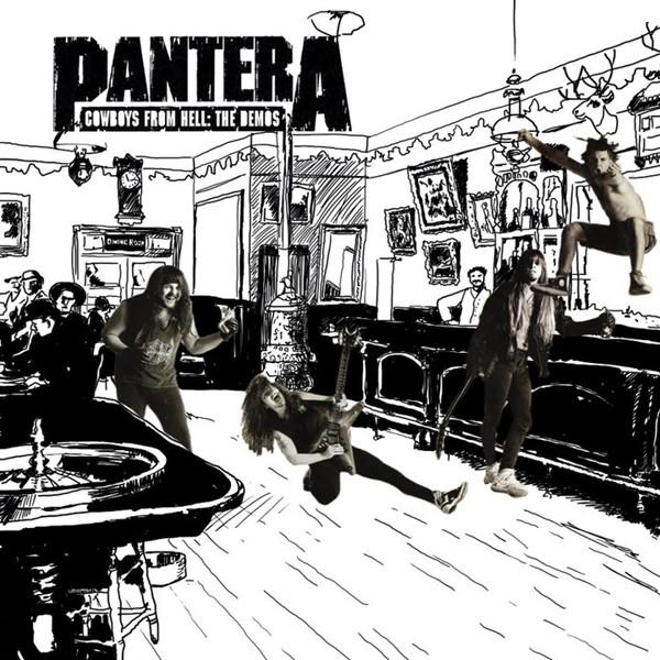 Pantera lança o álbum Cowboys from hell- the demos