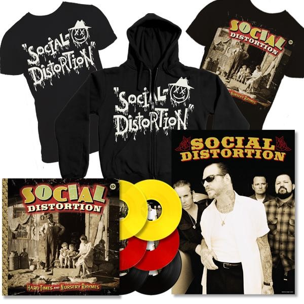 Pré-venda do novo disco do Social Distortion
