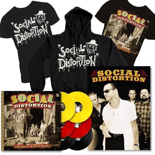 Pré-venda do novo disco do Social Distortion