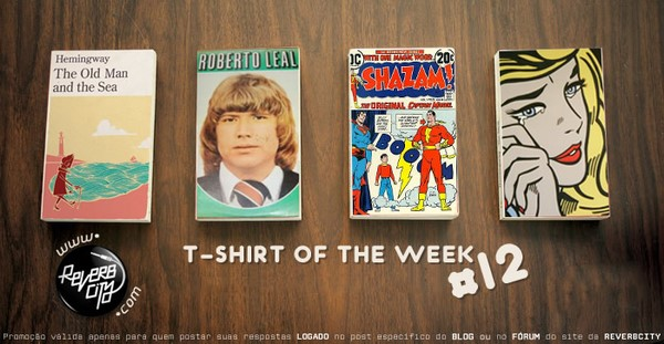 Reverb City - T-Shirt Of The Week 12
