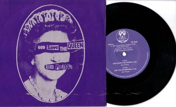 Sex Pistols - God Save the Queen (UK)
